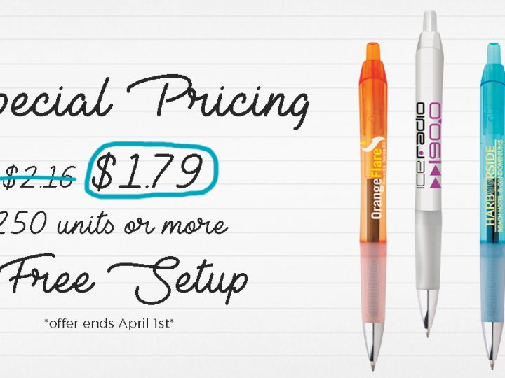 Save $100 On Our Best Selling Pen (Offer Ends 4/1/17)